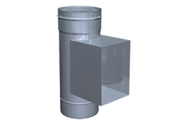 inox dimnik za visoko temperaturo